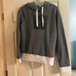 Grey Under Armor Sweatshirt